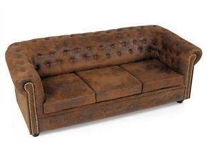 chesterfield sofas sessel ebay. Black Bedroom Furniture Sets. Home Design Ideas