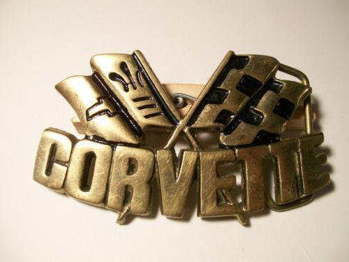Vintage Chevy Belt Buckle