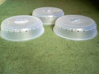 3 new microwave plate covers