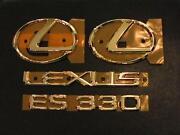 Lexus Gold Emblem