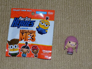 FUNKO, EDITH, PINT SIZE HEROES, DESPICABLE ME 3, VINYL FIGURE NM