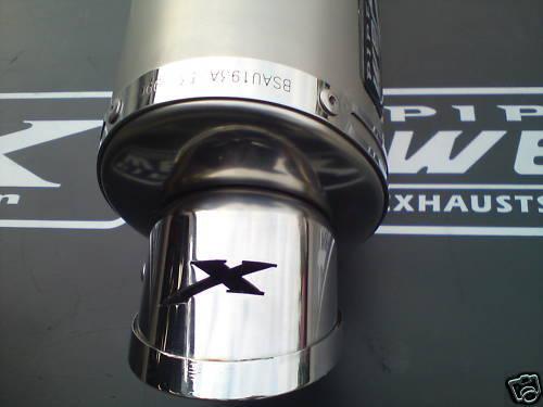 Pipe Werx Kawasaki Z750 03-07 S//S Tri Oval Exhaust SL