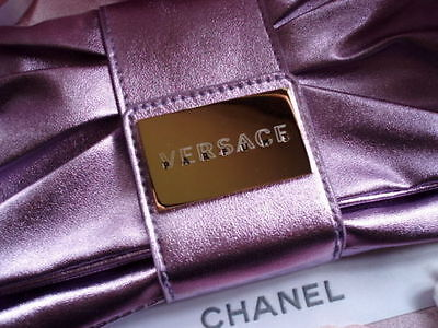 100% AUTHENTIC MOST RARE VERSACE COUTURE Signature WEDDING EVENING CLUTCH BAG