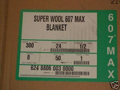 Superwool Plus Soluble Ceramic Fiber Blanket 12 8