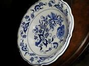 Blue Danube Serving Bowl