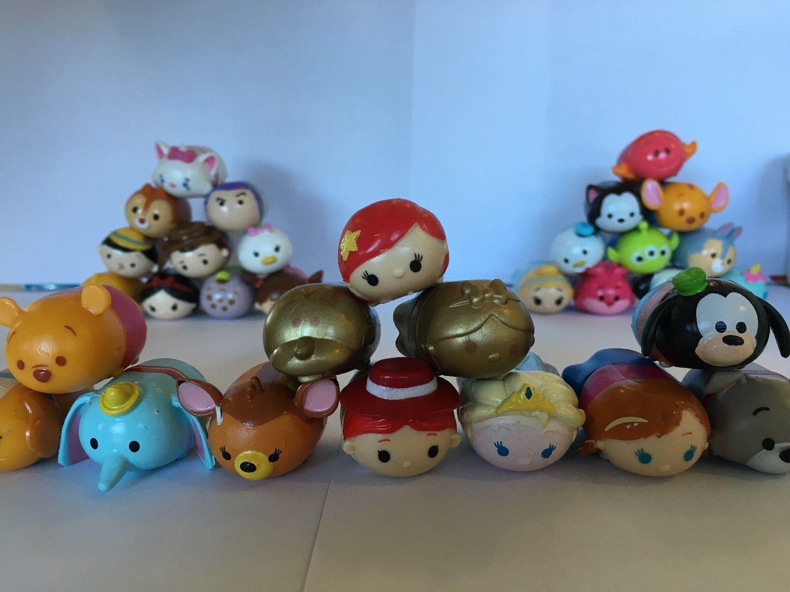 Disney Tsum Tsum Series 1 Squishy Vinyl Figures/Squishies/Characters -Brand New