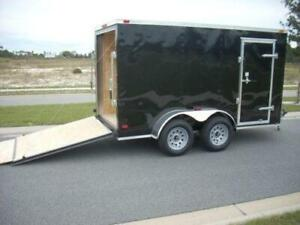 Looking for a enclosed cargo trailer