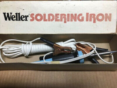 Weller Tcp-12 Dc Soldering Iron 30w Blue New Open Box--- Great For Auto Work