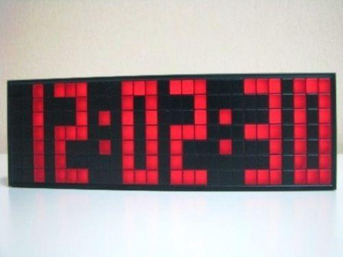Modern Digital Wall Clock | eBay