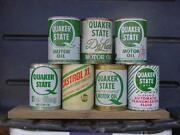 Vintage Quaker State Oil Can