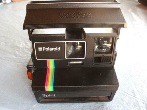 polaroid spirit 600 cameras photo ebay. Black Bedroom Furniture Sets. Home Design Ideas