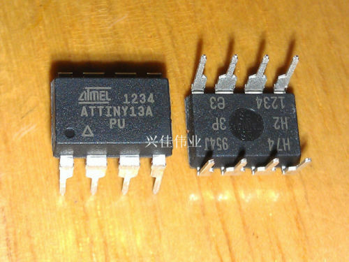 10pcs Atmel Dip-8 Attiny13a-pu Tiny13a-pu Chip Ic