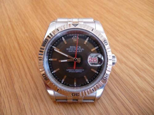 64185919169 Rolex Turnograph  Wristwatches