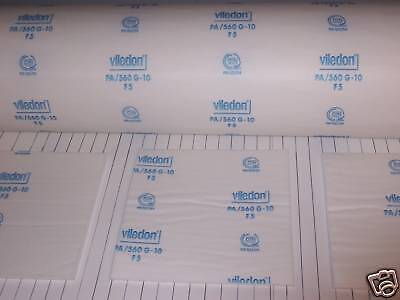 Viledon Pa560 G-10 Spray Paint Booth Ceiling Filters 8 - 72 X 84