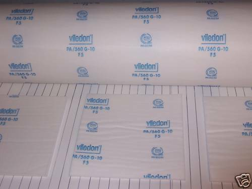 "Viledon PA/560 G10 Spray Paint Booth Ceiling Filter for Spraybake 78 3/4"" x 246"""