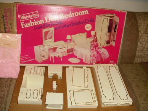 barbie bedroom set ebay