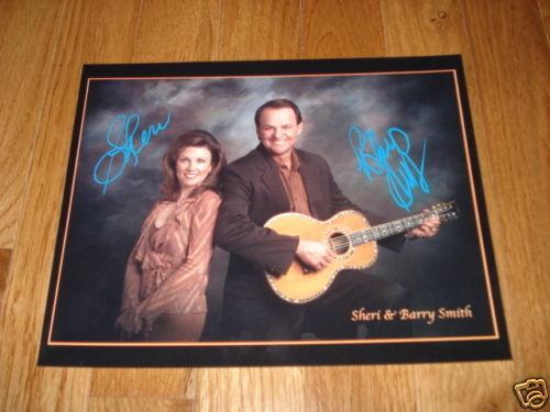 Sheri & barry Smith Signed Autographed 8x10 Promo Photo