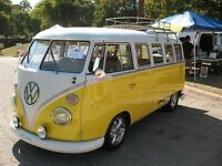 Looking for person who own yellow vw bus in Fredericton