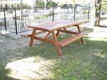 Indoor / Outdoor Rustic  Picnic/BBQ Table. Seats 8 Persons Gin Gin Bundaberg Surrounds Preview