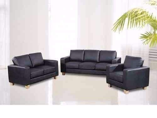 brand new leather sofa suite 3+2+1 with fire safety label only for £299