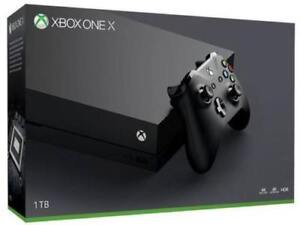 Xbox One X 1TB Console - New Factory Sealed