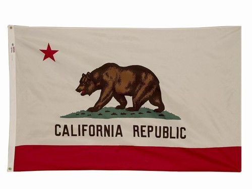 5x8 ft CALIFORNIA The Golden State OFFICIAL STATE FLAG Outdoor Nylon Made in USA