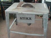 Tischkreissäge Atika