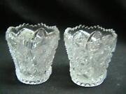 Vintage Glass Toothpick Holder