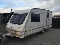 2 Berth Sterling Eccles Opal Caravan Spares Or Repairs/Camper Conversion 1998
