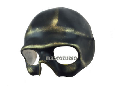 Blank DIY Unpaint Sugar Skull Skeleton Masquerade Mask Polyresin Base Halloween](Halloween Sugar Skull Mask)