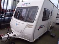 2008 BAILEY BORDEAUX FIXED BED,AT BUDGET CARAVANS LIVERPOOL,PART EXCHANGE AND FINANCE,MORE IN STOCK,