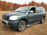 2005 Nissan Armada SE SUV NEGOTIABLE TOWING 9000LBS 8 PASSAGERS