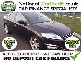 Ford Mondeo 2.0TDCI - BAD CREDIT CAR FINANCE