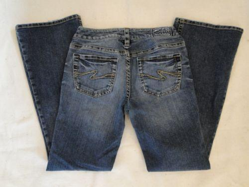 Silver Aiko Bootcut Jeans | eBay