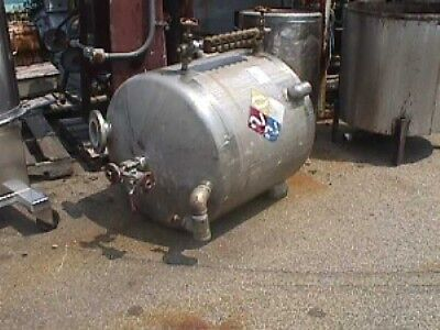 100 Gallon Stainless Steel Tank Dished Top And Bottom