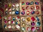 Vintage Christmas Ornaments Glass Lot
