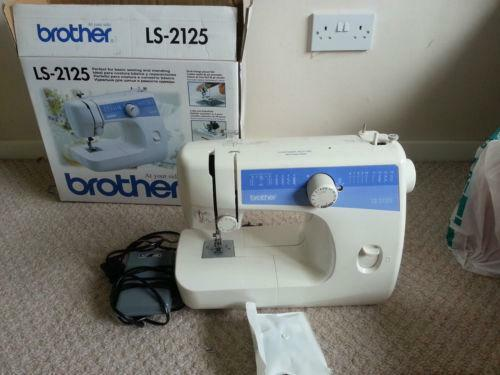 Brother LS40 Sewing Machines EBay Extraordinary Ls2125 Brother Sewing Machine