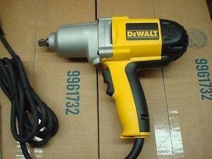 NEW DEWALT DW292 1/2 INCH ELECTRIC IMPACT WRENCH DRILL 7.5 AMP KIT NEW IN BOX | eBay