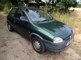 Low Mileage Vauxhall Corsa 1.0 12v 3 door