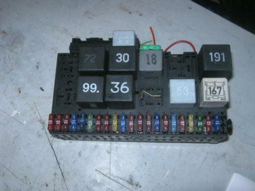vw polo fuse box ebay. Black Bedroom Furniture Sets. Home Design Ideas