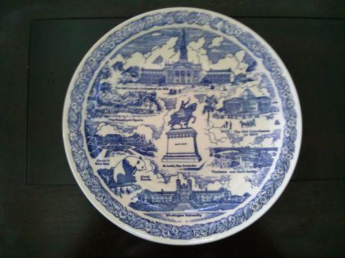 My Plates Texas >> Vernon Kilns Plate | eBay