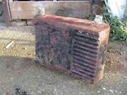 Woodburner Back Boiler