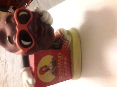 Sun maid raisins piggy bank