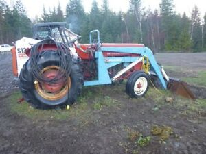 tractor with front end loader
