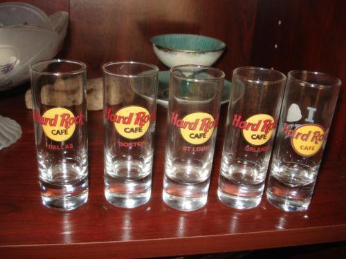 Hard Rock Cafe San Francisco Shot Glass