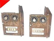Antique Post Office Box