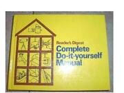Readers Digest Complete do It Yourself Manual