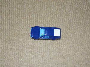MAJORETTE, BLUE ALPINE A310 POLICE CAR, DIECAST METAL VEHICLE