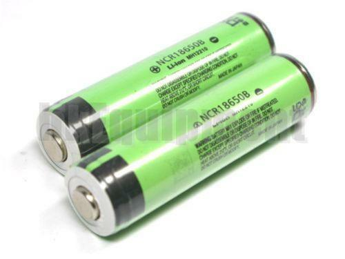 Panasonic 18650 Rechargeable Batteries Ebay