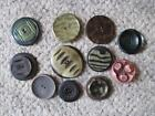 Lot of Old Buttons